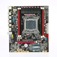 X79 E5 3.5C Motherboard MATX Motherboard SATA3.0 and USB3.0 Ports LGA2011 4 DIMM Slots DDR3 Board Up to 64GB Mainboard