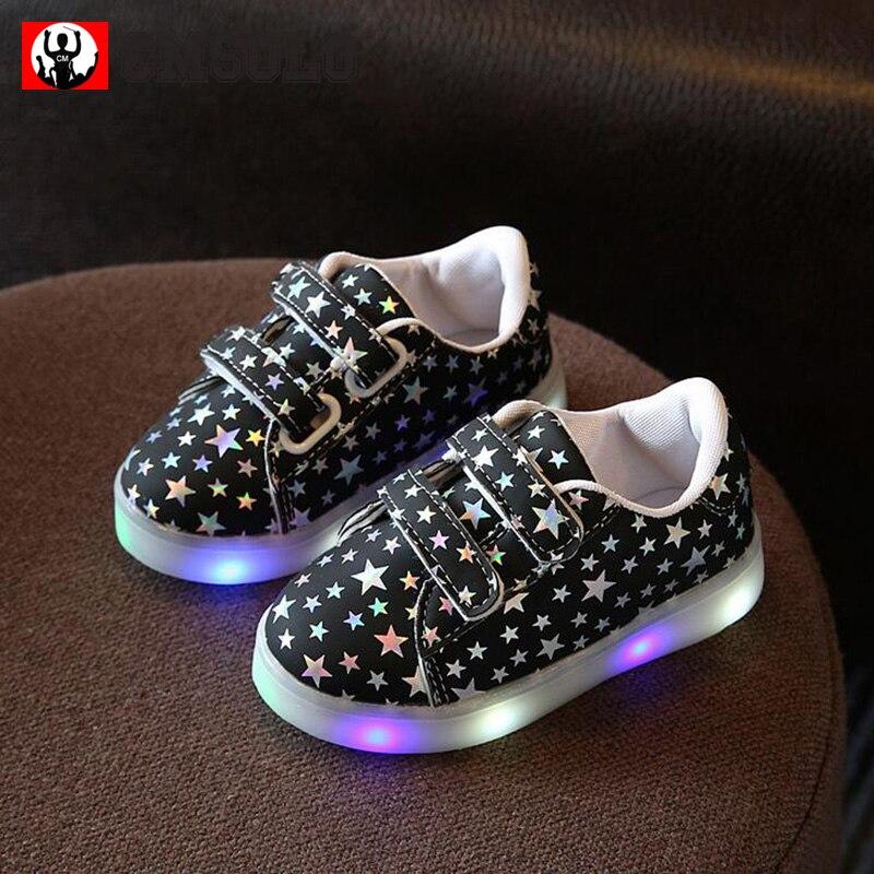 CMSOLO Zapatos deportivos de goma que brillan intensamente Led - Zapatos de niños - foto 2