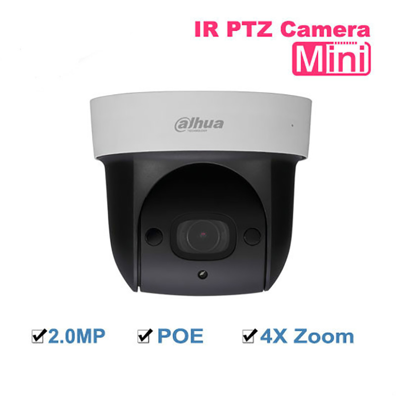 Dahua SD29204S-GN 2MP Network Mini IR PTZ Dome IP Speed Dome 4x optical zoom English Firmware with Dahua logo updated SD29204T-G original english firmware dahua dh sd29204t gn replace sd29204s gn 2mp network mini ir ptz dome ip speed dome 4x optical zoom