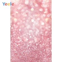 Yeele Wallpaper Pink Photocall Bokeh Lights Glitter Photography Backdrops Personalized Photographic Backgrounds For Photo Studio