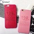Розничная PU кожаный Мультфильм Panthera Case Для iPhone 5s 5se 6 6 s плюс softpink розовая пантера Жесткий Shell чехлы Для Iphone 7 7 плюс