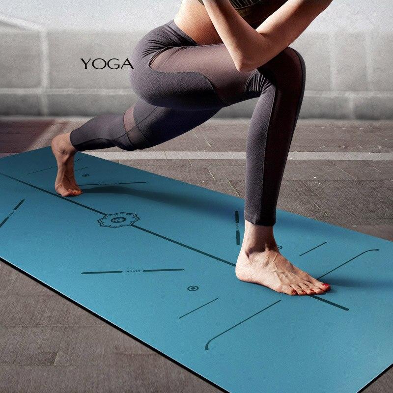̿̿̿ ̪ Balance Natural Rubber Yoga ① Mat Mat Male Female