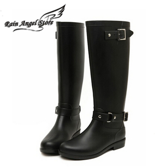 2015 Fashion Woman Rain Boot Women Rubber Boots For Rain Day De ...