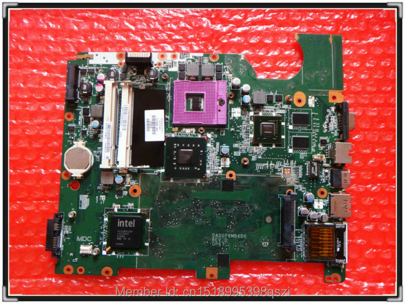 513758-001 for HP CQ61 motherboard DA00P6MB6D0 DDR2 mainboard 100% work tested