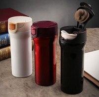 350ml High Quality Stainless Steel Thermos Mugs Car Vacuum Flasks Anti Dust Coffee Tea Milk Cups