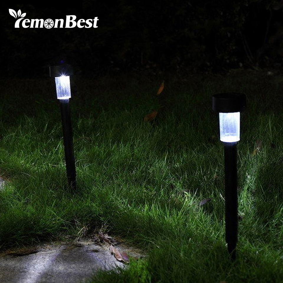 led solar light outdoor lighting stainless steel lawn lamp for