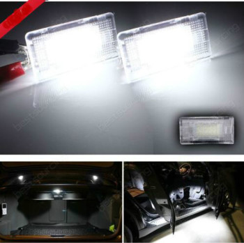 TAKPART FOR BMW LED Footwell Luggage Door Light Lamp E39 E46 E60 E61 E63 E65 E70 E90 E92 E93 image