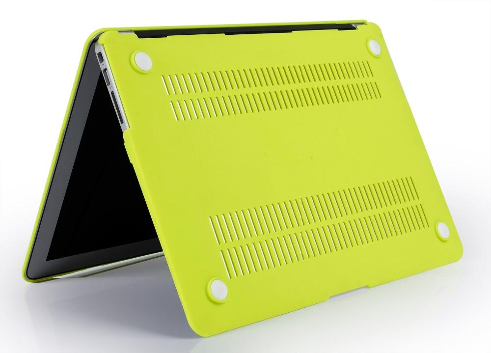 JUNWER CrystalMatte Transparent Case For Apple Macbook Air Pro Retina 11 12 13.3 15 For Macbook Air 13 A1932 Laptop Case Cover 29