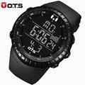 OTS Moda Hombres Relojes de Primeras Marcas de Lujo Reloj de Los Hombres LED Digital Deportes Militar Relojes relogio masculino Impermeable Al Aire Libre 7005