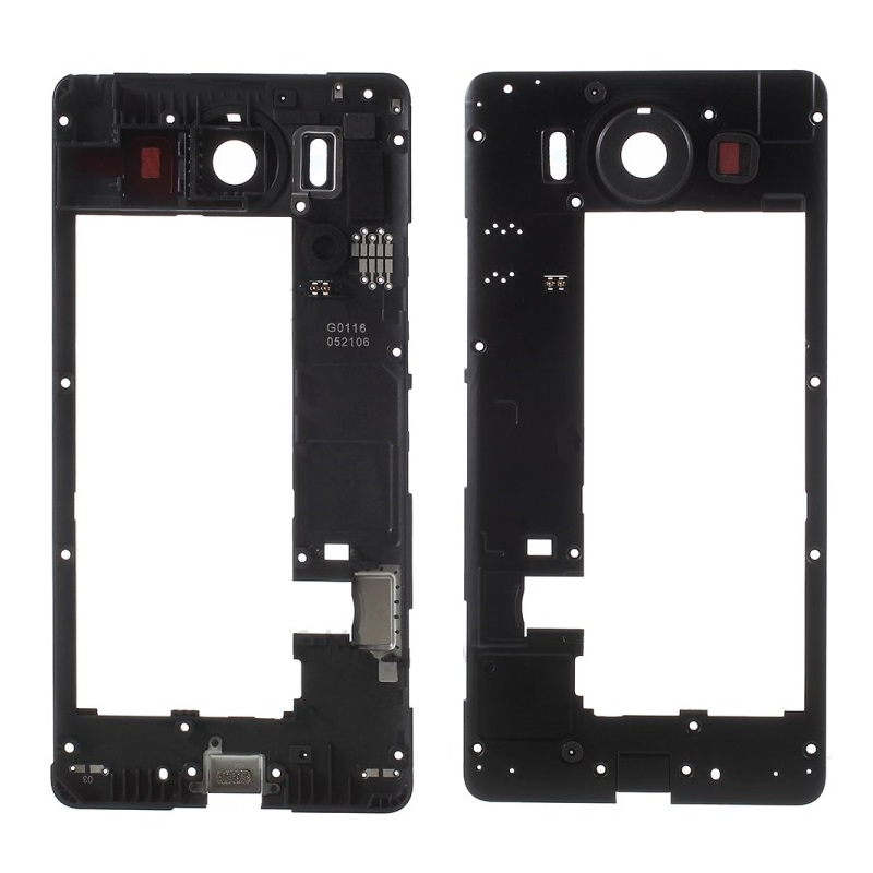Rear Back Frame Housing Middle Cover Replacement <font><b>Parts</b></font> for Nokia <font><b>Lumia</b></font> <font><b>950</b></font> image