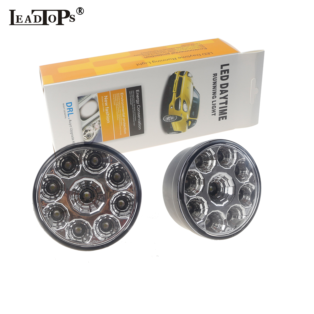 2PCS Car Styling H11/H4/H7/881/9005/9006 LED Car Auto DRL Chip Fog Running Headlight Head Lights Lamp Bulb DC12V White BJ qvvcev 2pcs new car led fog lamps 60w 9005 hb3 auto foglight drl headlight daytime running light lamp bulb pure white dc12v