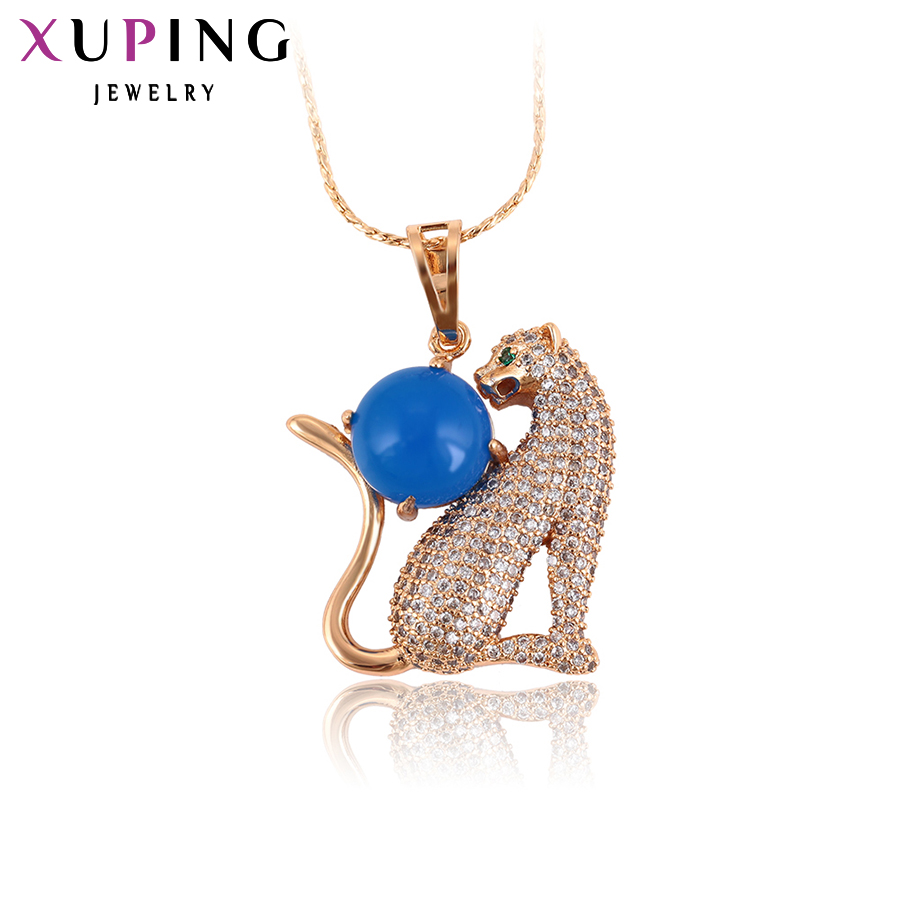 11.11 Deals Xuping Fashion Luxury Pendant With Synthetic CZ for Women Beautiful Jewelry Holiday Christmas Gift S35-32127