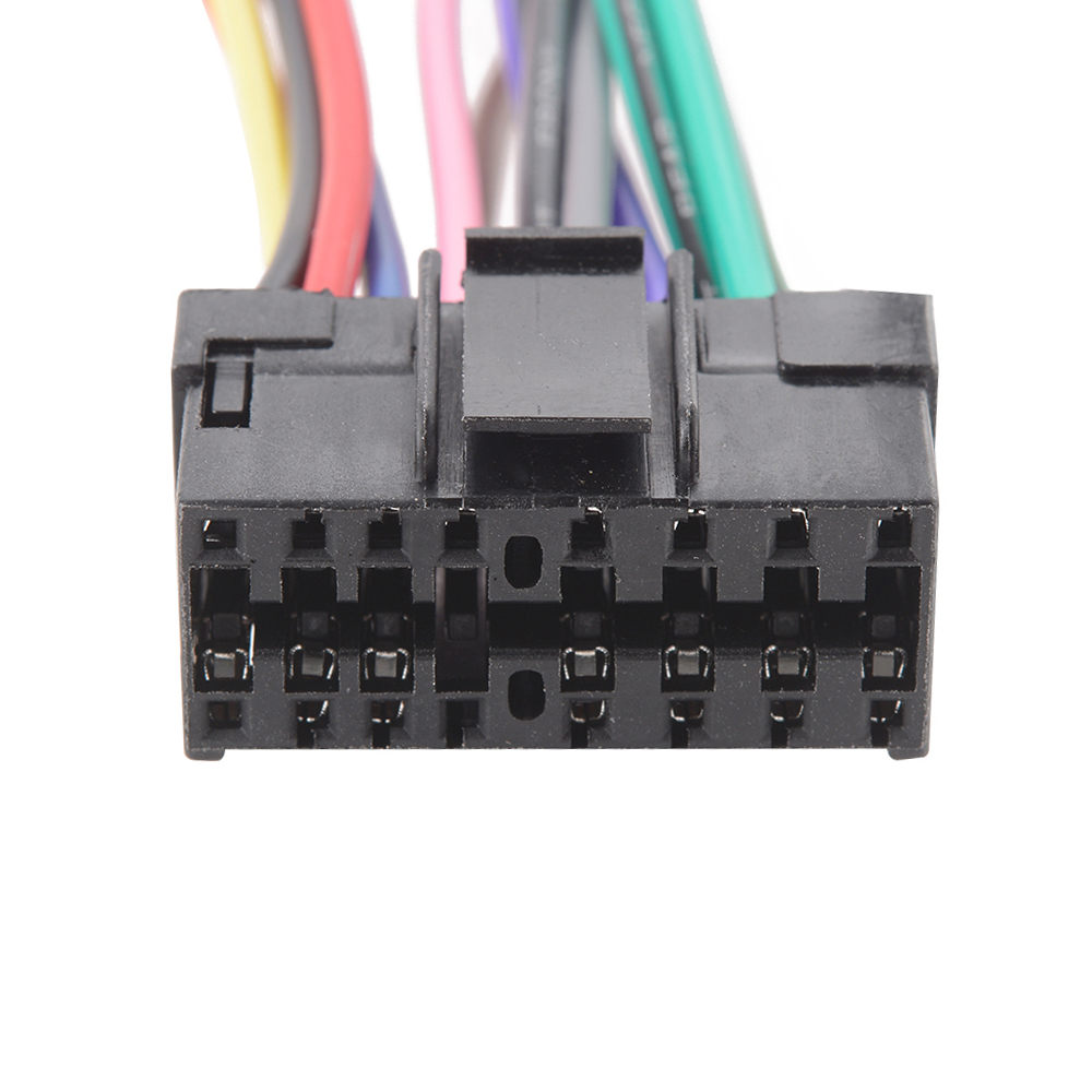 16 Pin Iso Wiring Harness Connector Adaptor Loom For Sony Car Stereo Pins Radio Ma716 In Cables Adapters Sockets From Automobiles Motorcycles On