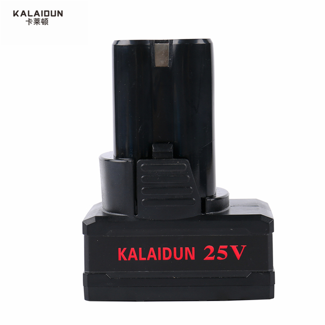 KALAIDUN 25V Electric Drill Mobile Power Tools Electric Screwdriver Lithium Battery Cordless Impact Drill With Extra Toolbox 4