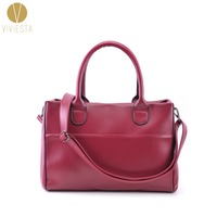 TOP HANDLE BOWLER SATCHEL BAG Women S Faux Leather Large Formal Business Work Soft Briefcase Tote