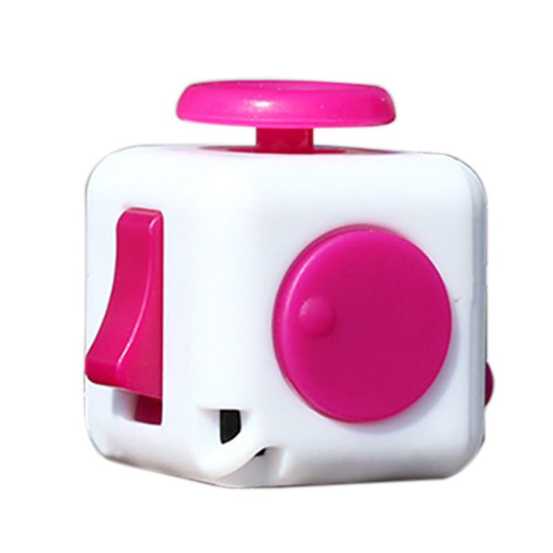 9 Colors Fidget Cube Anti Irritability Toy Magic Cobe Funny Christmas Gift Original Fidget Cube Desk Toy