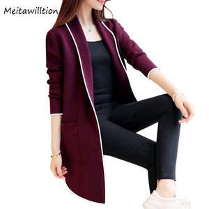 a249a68cded Meitawilltion 2018 Winter Female Long Sleeve Women Cardigan