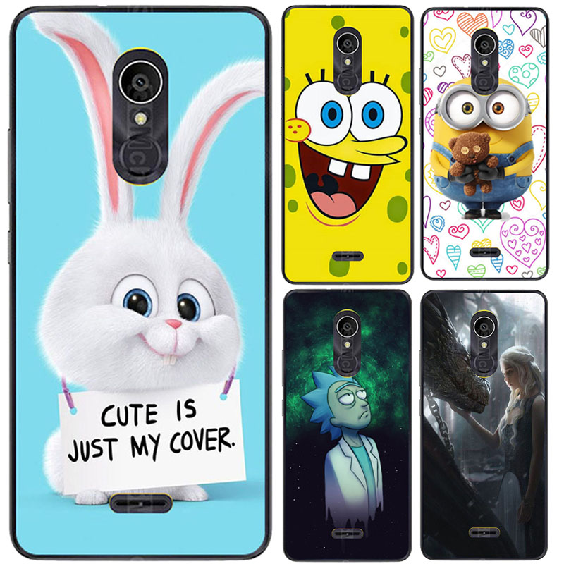 Cases For Alcatel 3C 5026D 5026 5026A Case Silicone Rose Patterend Coque For Alcatel 3 C 5026 D 5026 5026 A Cases Back Covers