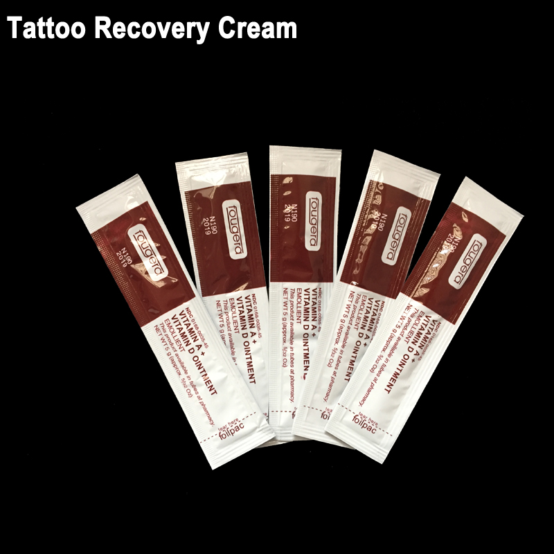 Us 1196 Pro Brand New Tattoo Supplies 50pcslot Tattoo Recovery Cream Vitamin Avitamin D Ointment Top Tattoo Repairing Cream Shipping In Tattoo