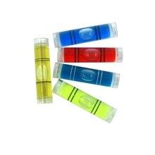 Цилиндрические Пузырьковые уровни пластиковые пробирки мини спиртовой уровень для фоторамки 9,5*40 мм(5 шт./лот