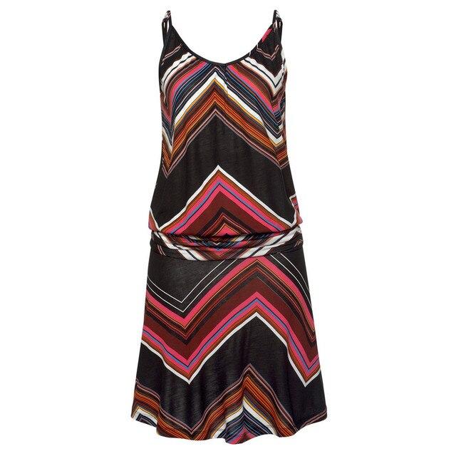 Womens Sexy Summer Dress Sleeveless Printed O-Neck Beach Bodycon Party Mini Camis Dresses Summer Beach Dress 2021 vestidos 3