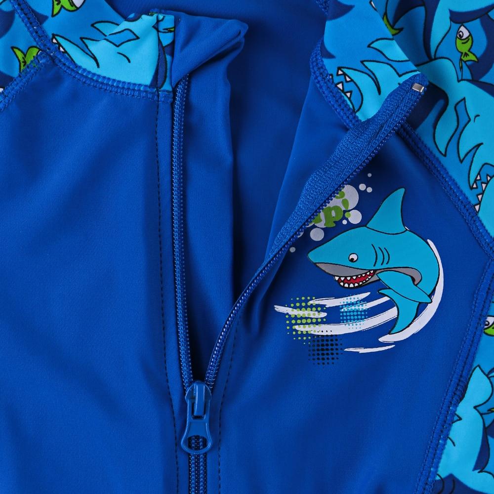 Strój kąpielowy BAOHULU Shark Character Kids (UPF50 +) Strój - Ubrania sportowe i akcesoria - Zdjęcie 3