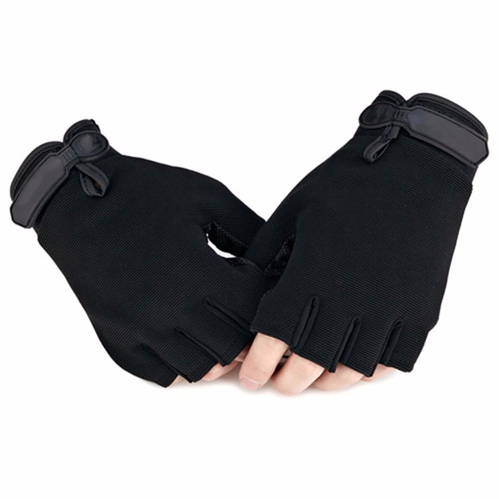 Outdoor Half Finger Tactical Gloves Anti-slip Cycling Climbing Sports Gloves 100% Brand New And High Quality