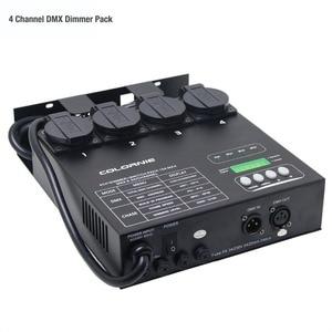 Image 5 - מפעל סיטונאי 4 ערוץ DMX דימר ומתג חבילה עם 16 מובנה אור תוכניות 4CH Switcher עבור שלב אור גופי