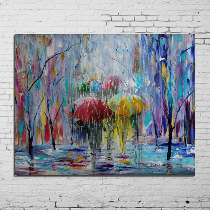Art handpainted painting landscape painting on canvas fine for Fine home decorations