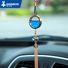 Car perfume pendant car hangings essential oil smell female male