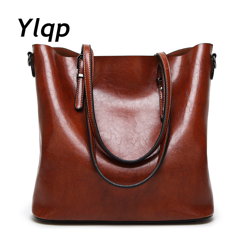 Women Casual Tote Quality Leather Handbag Bag Fashion Vintage Large Shopping Bag Designer Crossbody Bags Big Shoulder Bag Female aresland women bag female folded geometric plaid bag designer fashion casual tote women handbag shoulder bag quality leather