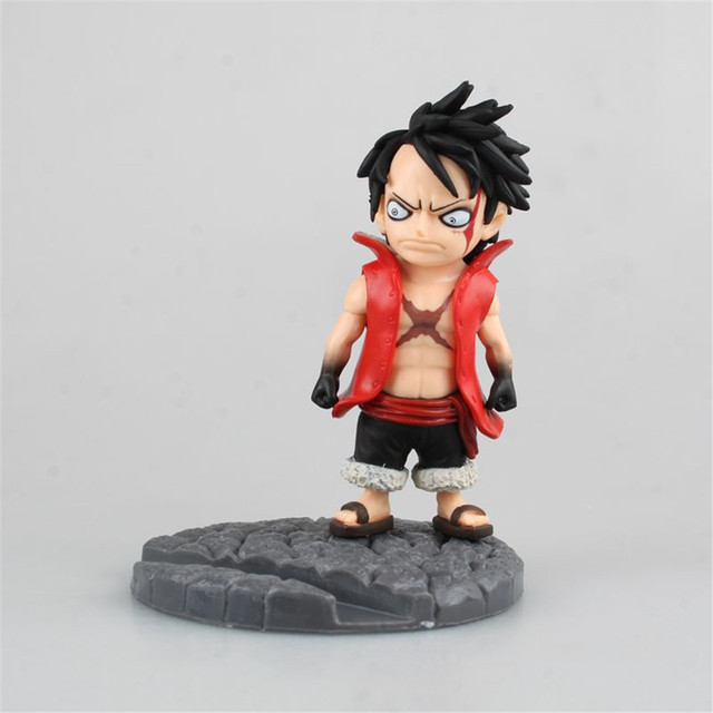 Chanycore Anime One Piece Luffy Mobile Action Figures PVC Toy