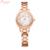 2016 Mulheres Pulseira de Relógios de Alta Qualidade Marca KIMIO Strass Design de Estilo relógio de Quartzo Vestido Relógio de Aço Inoxidável À Prova D' Água