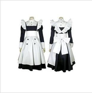 Anime Black Butler   Mey Rin Maid Cosplay Costume custom any size woman