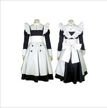 Anime Black Butler   Mey Rin Maid Cosplay Costume custom any size woman  nekopara cosplay chocolat maid costume any size