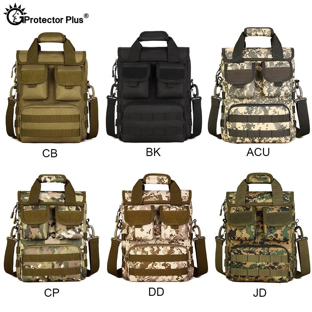 portatil estilo militar crossbody camuflagem molle caca 05