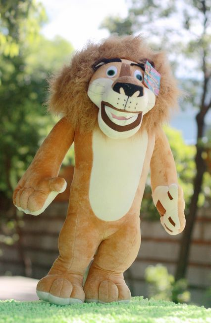 the stuffed lovely animal lion plush toys Malaga lion doll birthday gift  about 52cm the autobiography of fidel castro