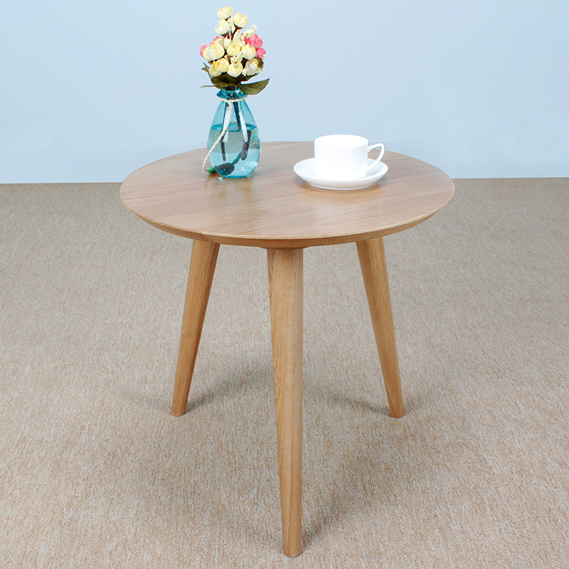 White Oak Solid Wood Furniture Anese Style Side Table Round Coffee Corner Cabinet A Few Small In Tables From