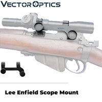 Vector Optics Lee Enfield No.4 Scope Steel Mount Rings British MkIII & MkIV Sophisticated Precision Riflescope Mount