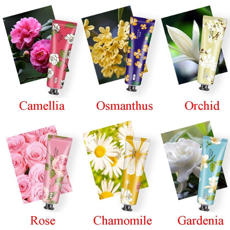 30g Plants Hand Cream Set Flower Camellia Propolis Moisturizing Hand Cream Nourishing Anti Chapping Oil Control Hand Care