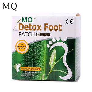Image 1 - 240 Piece=120pcs Patches+120 pcs Adhesives 2 Box MQ Detox Foot Patch Vinegar Pad Improve Sleep Beauty Slimming Patch Loss Weight