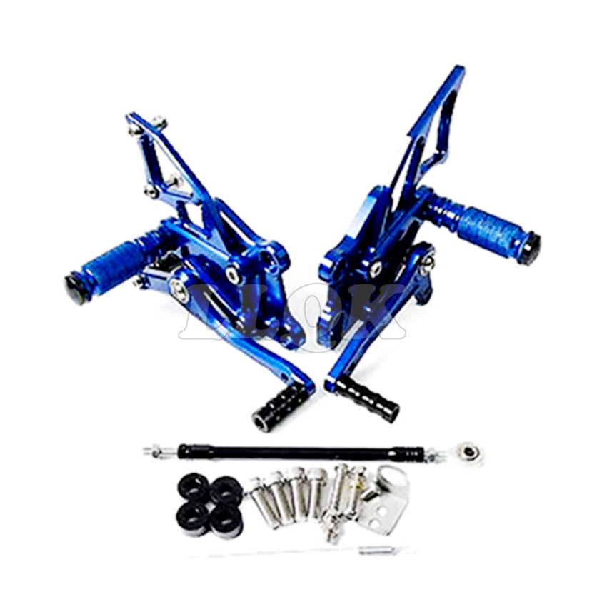 Motorcycle CNC  Foot Pegs Rear motorbike foot pegs for yamaha YZF R3 R300 R250RYZF-R25 YZF-R3 13-16 14 15 morais r the hundred foot journey