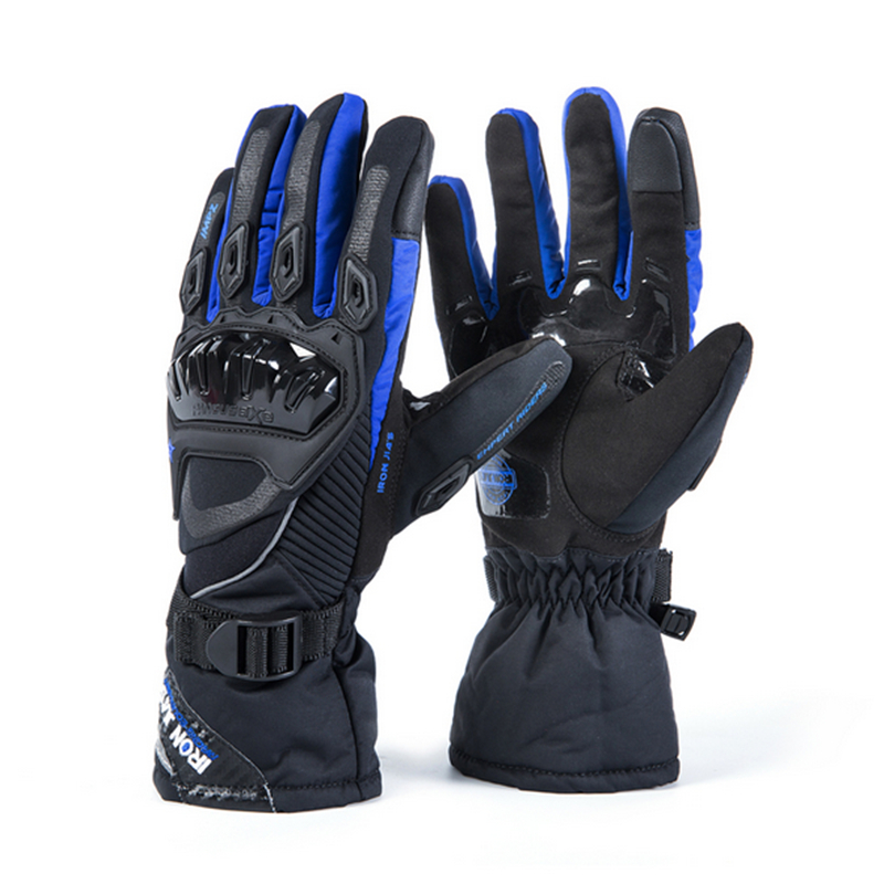 Winter Warm Waterproof Windproof Protective Touch Screen <font><b>Gloves</b></font> Men Ski <font><b>Gloves</b></font> Motorcycle GlovesGuantes Moto Luvas Motosiklet