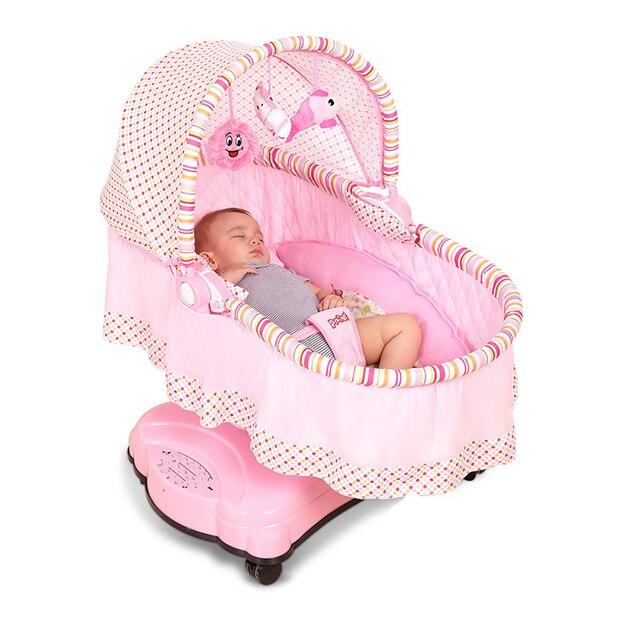 Baby Schommelstoel Automatisch.Ppimi Baby Elektrische Wieg Bed Slapen Mand Automatische