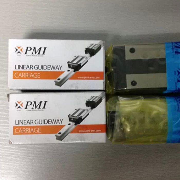 original tbi linear guideway bearings block trs25vn Original PMI block MSA25E linear flange guideway block