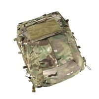 2019 New TMC Multicam Military Airsoft Tactical Vest Zipper Pouch Bag Zip Panel Back Pack NG Ver