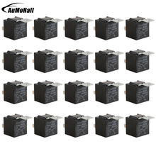 цена на 20 Pieces Relays  12 V Car Accessories  5 Pins Black Color Relay