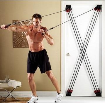 Tv weider factor total body training system door home gym