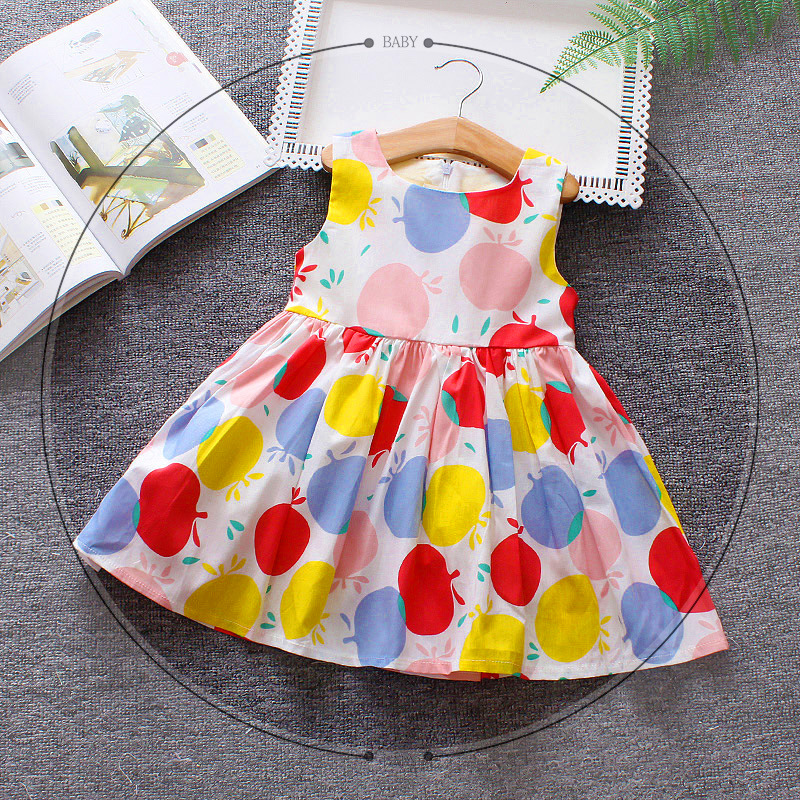 2018 Baby Party Dress Fashion Infant Toddler Summer Dresses for Princess Girls Clothes Robe Bebes Fille Kids Vestidos