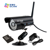 FTP Motion Detect WiFi 1 0MP HD 1280 X 720P Bullet IP Camera 802 11b G